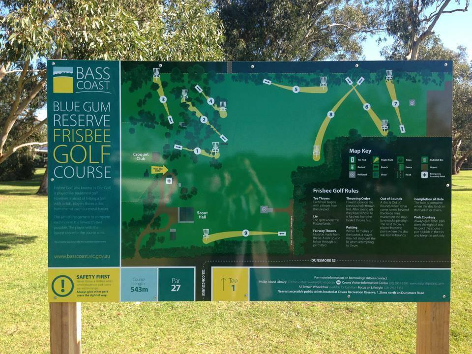 10+ Blue gum reserve frisbee golf course information