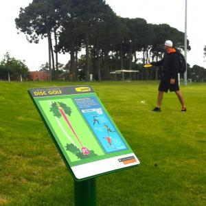 Curtin University Disc Golf Course