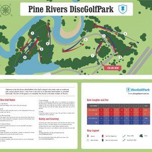Pine Rivers Park Disc Golf Course