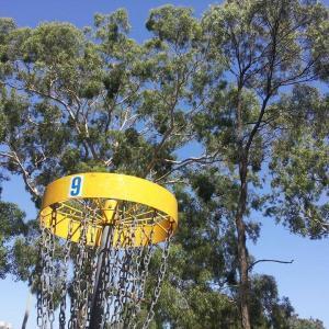 Newington Armory Disc Golf Course