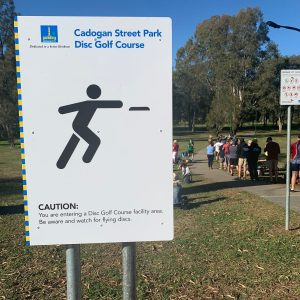 Cadogan Street Park Disc Golf Course